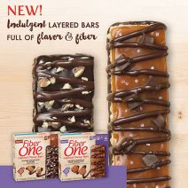 General Mills Fiber One Layered Chewy Bars