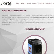 Forte Products redesigned website