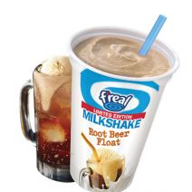 f'real Root Beer Float Milkshake