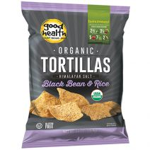 Good Health Organic Black Bean & Rice Tortillas