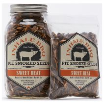 Inhale BBQ Pit Smoked Sunflower Seeds