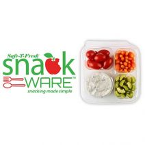Inline Plastics Safe-T-Fresh SnackWare containers