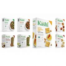 Kashi Savory Bars, Teff Thins and Quinoa Bowls