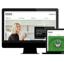 Keurig Green Mountain commercial website