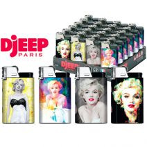 Kretek Djeep Marilyn Monroe lighters