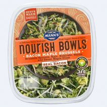 Mann's Bacon Maple Brussels Nourish Bowl