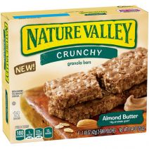 nature valley crunchy almond butter bars