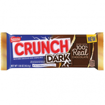 Butterfinger Dark, Crunch Dark and Bunch Crunch Dark
