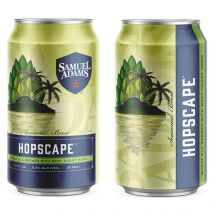 Samuel Adams Hopscape and Fresh as Helles