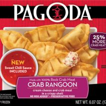 Schwan's Pagoda Potstickers and Crab Rangoon