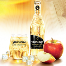 "Strongbow ""Bestest Over Ice"" campaign Hard cider marketing"