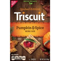 Triscuit Limited Edition Pumpkin & Spice