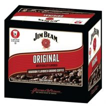 White Coffee Jim Beam Bourbon Flavored Coffees
