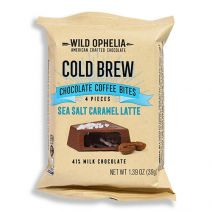 wild ophelia jet black cold brew chocolate sea salt caramel coffee bites