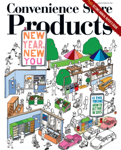Convenience Store Products magazine January-February 2015