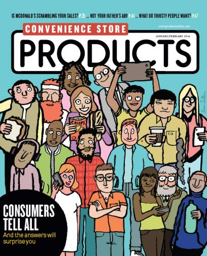 Convenience Store Products magazine January/February 2016 cover