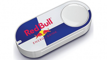 Amazon Dash Red Bull button