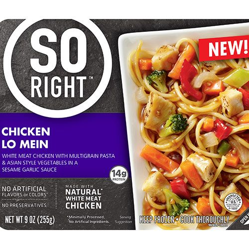 Bellisio Foods So Right frozen meals