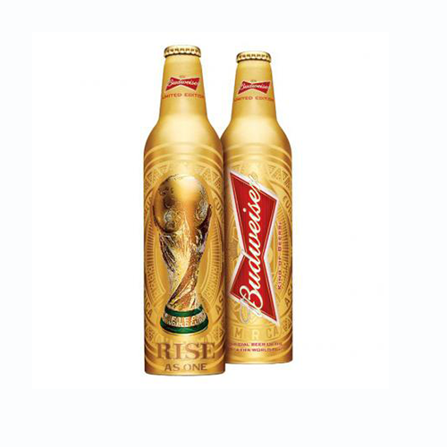 budweiser world cup trophy bottle