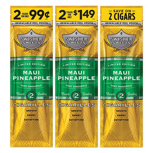 swisher maui pineapple