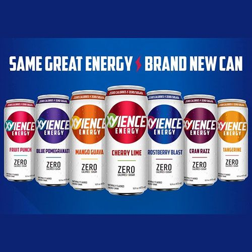 xyience energy drink redesign