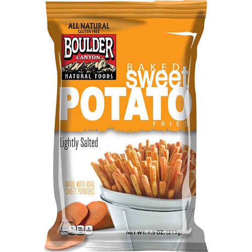 boulder canyon baked sweet potato fries