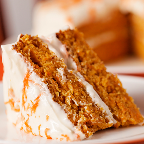 cafe supreme carrot cake