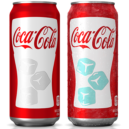 coca cola chill activated can