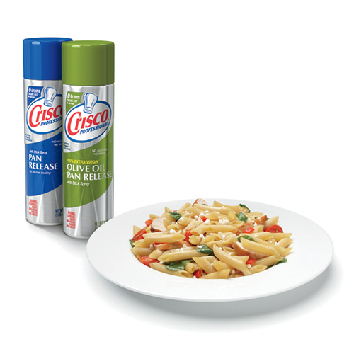 crisco pan release spray