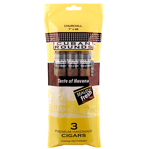 cuban rounds cigars