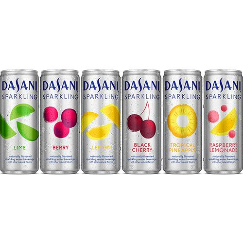 Dasani Sparkling Raspberry Lemonade And Tropical Pineapple