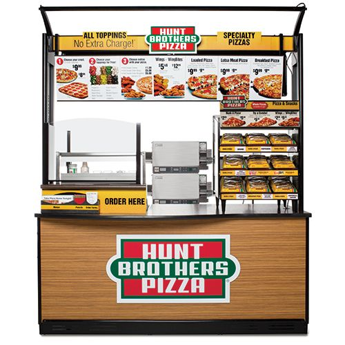 hunt brothers turnkey pizza program