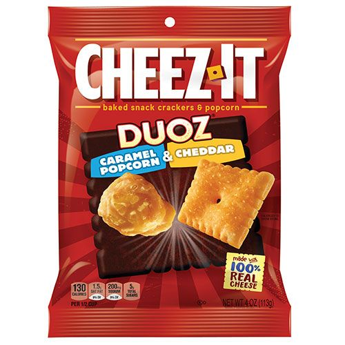 kellogg cheez it duoz caramel popcorn