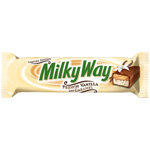 milky way french vanilla and caramel bar