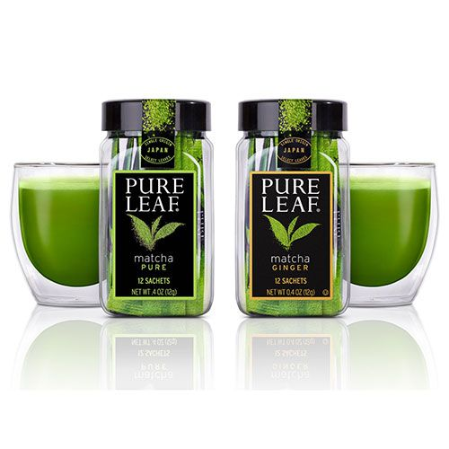Pure Leaf Pure Matcha and Matcha With Ginger Tea