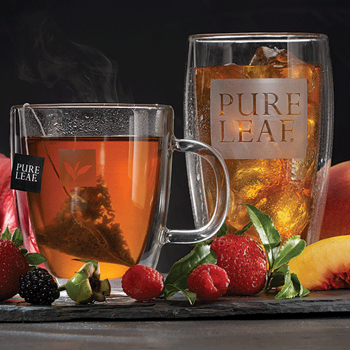 Pure Leaf hot and iced teas