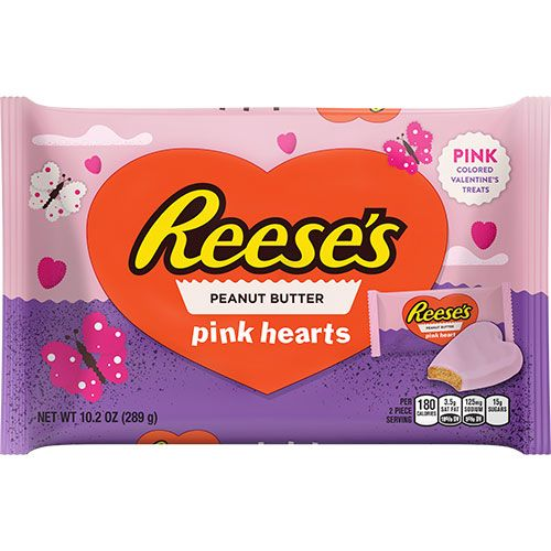 reeses pink peanut butter hearts