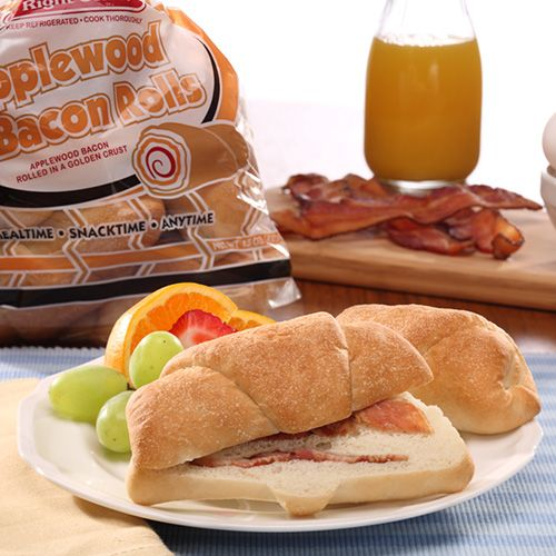 stefano applewood bacon roll