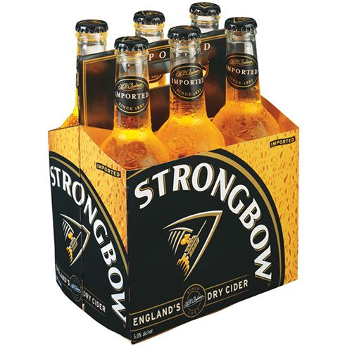 strongbow hard cider
