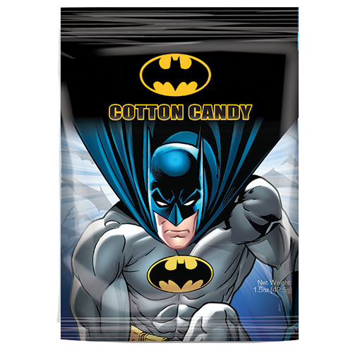 super heroes cotton candy