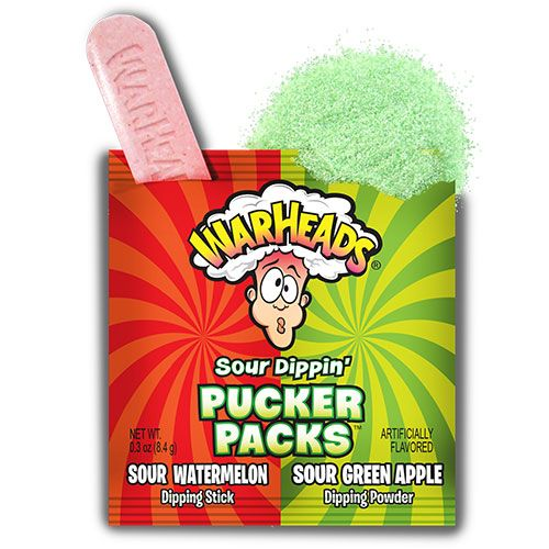 warheads sour dippin pucker packs