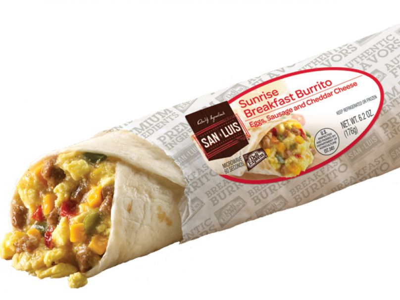 Deli Express Sunrise Breakfast Burrito
