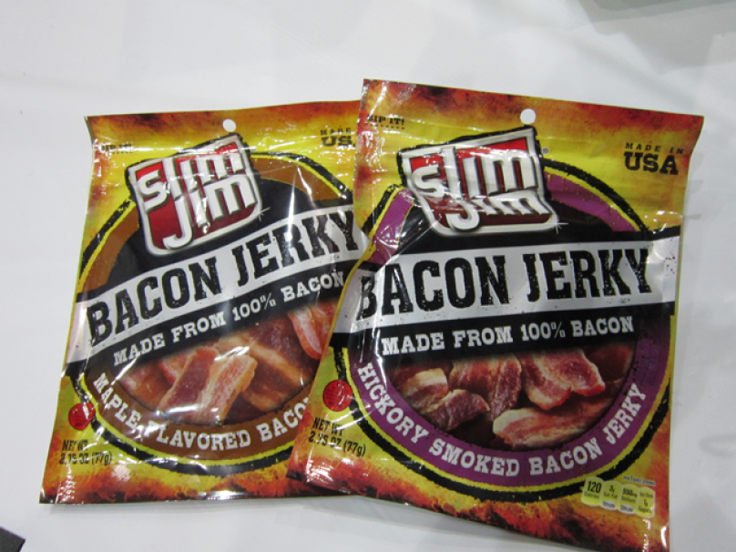 Slim Jim Bacon Jerky
