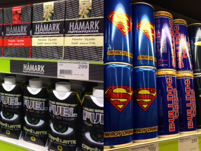 Iceland Energy Drinks