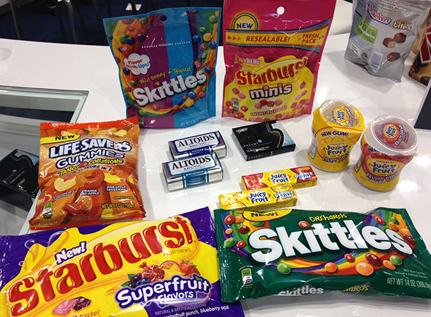 Wrigley Sweets and Snacks