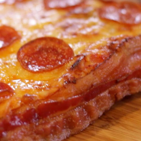 Little Caesars' Bacon-Wrapped Pizza