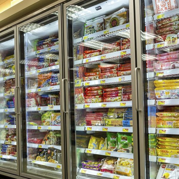 Frozen food fridges