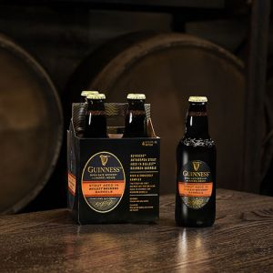 djageo guiness stout bulleit barrels four pack