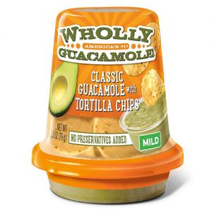 megamex wholly guacamole snack cups