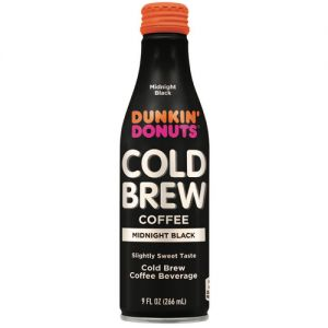 Dunkin cold brew coffee